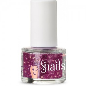 SNAILS NAIL GLITTER PURPLE RED