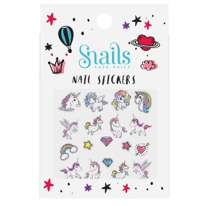 SNAILS NAIL STICKER UNICORN