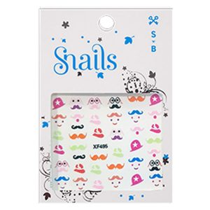 SNAILS NAIL STICKER MRS. POTATO HEAD
