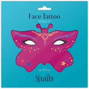 Snails Face Tattoos – Fairy Dust